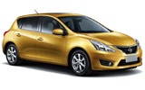 Car rental Nissan